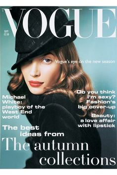 Christy Turlington's Vogue stories - the supermodel tells the tales behind her most famous covers