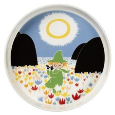 Moomin Friendship Serving Platter 26 cm by Arabia - The Official Moomin Shop - 1 Moomin Shop, Moomin Mugs, Christmas Wishlist 2016, Ceramic Manufacturer, Illustration Story, Tove Jansson, Plates And Bowls, Ovens, Serving Platters
