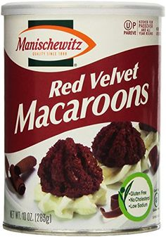 Manischewitz Red Velvet macarrons Kosher for Passover ** Continue to the product at the image link.