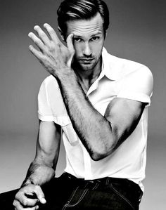 Afternoon delight c/o #theAuthorityinsexy , Alex #skarsgard