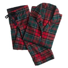 Let the Tide Pull Your Dreams Ashore: Time for Tartan J Crew Pajamas, Cozy Pajamas, Flannel Pajamas, Plaid Flannel, Tartan Plaid, Plaid Shirts, Satin Pyjama Set, Pajama Set, Pajamas For Teens