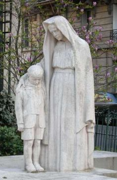 Charles Yrondi : Monument aux Morts, Paris XV (France)