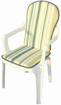 Cojin redondo para silla de rayas https www - Cojin redondo silla ...