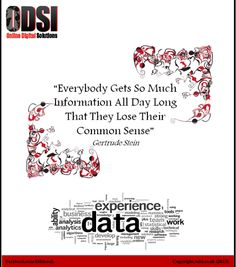 Food for Thought: Intuition is a critical constituent of Big Data analysis via @Odsicouk