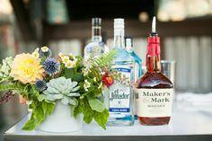 Flowers & whiskey
