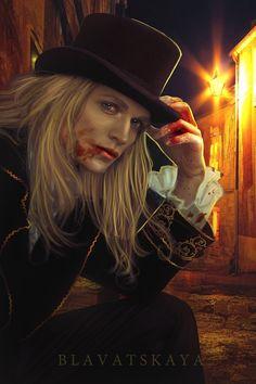 Lestat de Lioncourt from Anne Rice's The Vampire Chronicles by Blavatskaya. http://lilywight.com/2013/10/05/the-vampyre-by-john-polidori/