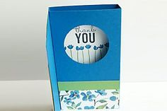 """Pop-Up Diorama Card Tutorial - Splitcoaststampers...by Julie Davison Hide a surprise scene inside this pop-up card. Cardstock cut to 5 1/2"""" x 10 1/2"""" Paper trimmer Scoring tool 2-inch circle punch or die Double sided tape"""