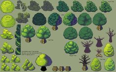 GR#011 - Trees - Canopy Styles