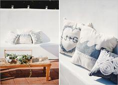 custom wedding pillows