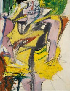 Willem de Koonig. Woman. 1952.