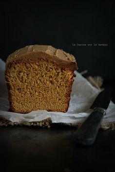 cake010 Cake au sirop d'érable, glaçage au sucre muscovado