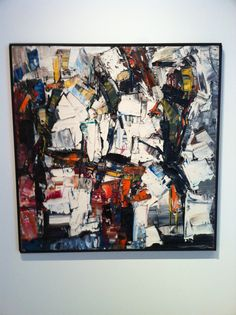 Jean Paul Riopelle @ Yale Art Gallery