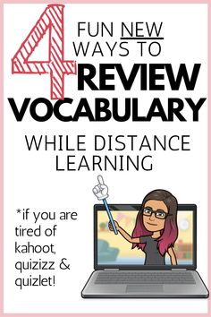 The Best New Distance Learning Vocabulary Activities for Breakout Rooms