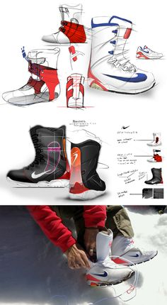 Nike. Snowboard concepts