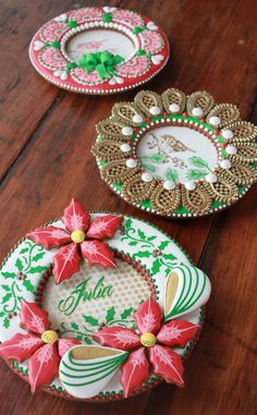 Julia M Usher, Recipes for a Sweet Life, 3-D Cookie Boxes, Christmas cookies, contoured cookies