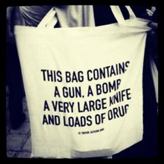 This bag contains ...