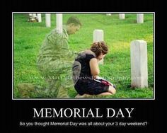 We should all take a minute and say Thank you! It isn't just about what we get to do this weekend, but the people who gave us the freedom to do it.