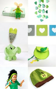 Greener than green by Lucia and Marijke on Etsy--Pinned with TreasuryPin.com