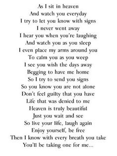This makes me think of my friend Terry! I miss you! I bet you are fixing a feast in heaven, with your amazing noodles and other sweet treats! Family Quotes, Me Quotes, Qoutes, Loss Quotes, Quotations, Angel Quotes, Random Quotes, Grief Poems, Miss You Dad