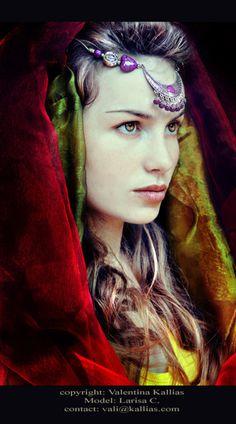 The Vampire Princess - Larisa by *ValentinaKallias