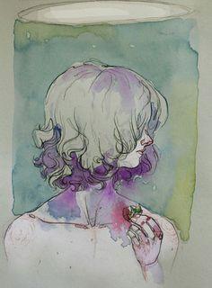 Watercolours. - Adara Illustrations.