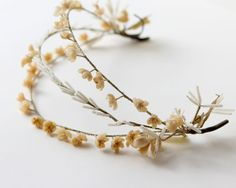 Vintage wax flower bridal headpiece 1920s or 1930s by whichgoose, $100.00
