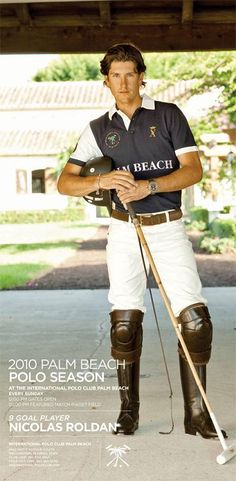 Nic Roldan is one of the world's top professional polo players and the highest ranked American player.