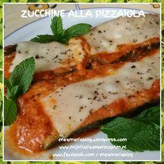 Zucchine alla pizzaiola  enzamariablog.wordpress.com  www.facebook.com / enzamariablog  www.facebook.com / cucina siciliana creativa e degli avanzi  www.facebook.com / ricette alla siciliana