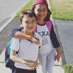 Last day of school for my amazing kids.  Proud of you both #letsgetyoufree #kids #picoftheday #stayathomedad #entrepreneur #life #fam #8fm #familyfirst #lovemyfamily #ninjadad #blessed #gratitude