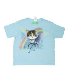 e17e651a3eb1 Love this Blue Purgasus Cat Tee - Toddler  amp  Kids by WOWCH on  zulily