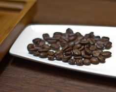 Kopi Luwak (coffee beans that were excreted by the Luwak cat creature because they cant digest the beans)