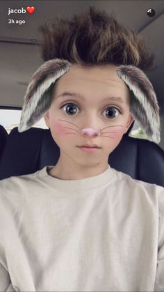 This filter makes some people look cute and others cuter❤️