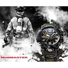Mudmaster aus der Casio G-Shock Premium Solar Funkuhren Kollektion mit Smart Access-Bedienung. Höhenmesser bis 10´000m, 5 Alarme, Barometer, Digitalkompass, Thermometer...