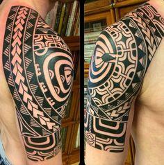 Maori Polynesian style