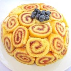 swiss roll ice cream cake - Google Search