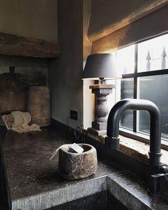 Küchen Design, Rustic Kitchen, Decoration, Furniture Decor, Home Remodeling, Living Spaces, Ibiza, Interior, Modern