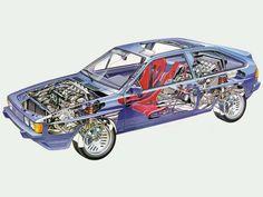 Volkswagen Scirocco Bi-motor 360/4 Prototype (1983)