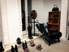 Accessory display inside The Dover Street Market London. #retail #interior #fashion