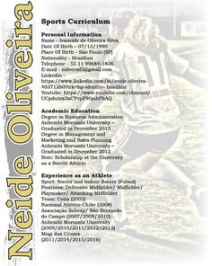Recruiting Resume Pini Believe Posters On Sports Resumesrecruiting Flyers  Pinterest