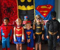 1-#superhero birthday party #ideas #3 year old-068