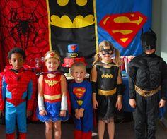1-#superhero birthday party #ideas #3 year old-068