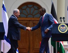 Kenyan President Uhuru Kenyatta commits to upgrading Israel's status in the African Union since 'it was critical for Africa to re-evaluate its relationship with Israel in order to better enable Africa to deal with common challenges in security & counter-terrorism.' ByHER