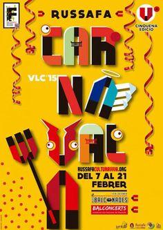 Cartel Carnaval Valencia 2015