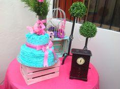 Decoracion y pasteles vintage