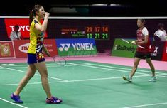 Indonesia Curi Kemenangan Dari Malaysia, Pebulutangkis 19 Tahun Ini Gagal Sumbang Angka Badminton, Basketball Court, Sports, Hs Sports, Sport, Exercise