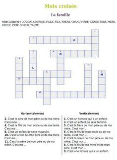 Puzzle on la famille