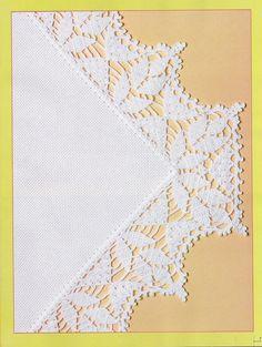 Αποτέλεσμα εικόνων για filet crochet edging