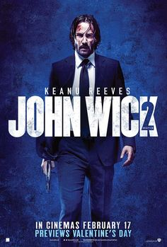 John Wick: Chapter 2 is an action film. It stars Keanu Reeves, Common, Laurence Fishburn. John Wick 2 Movie, Watch John Wick, Keanu Reeves John Wick, Keanu Charles Reeves, Geek Movies, Action Movies, All Hollywood Movie, Alfred Hitchcock, English Movies