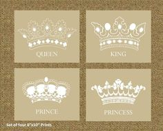 Image result for queen and princess crown tattoo