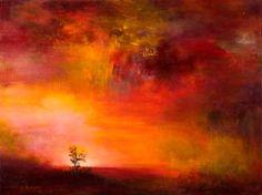 """Saatchi Art Artist Rikka Ayasaki; Painting, """"Passions, twilight 7013 (Painted in 2012, 61x46cm)"""" #art"""